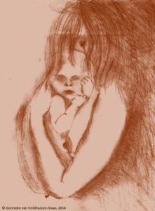 de eenzame baby