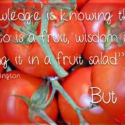 Kennis, bewijs en wijsheid