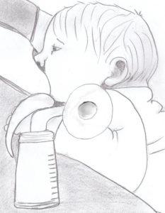 Kolven beïnvloedt bacteriële samenstelling moedermelk