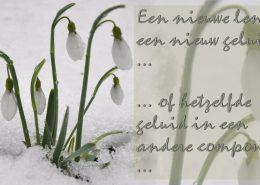 een nieuwe lente een nieuw geluid