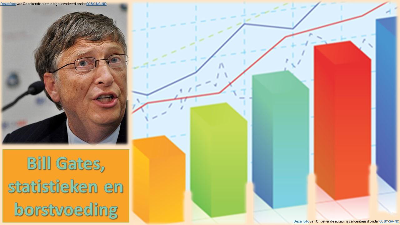 Bill Gates, statistieken en borstvoeding